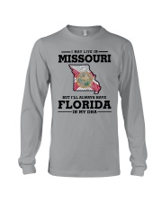 LIVE IN MISSOURI BUT I'LL HAVE FLORIDA IN MY DNA Long Sleeve Tee thumbnail