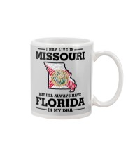 LIVE IN MISSOURI BUT I'LL HAVE FLORIDA IN MY DNA Mug thumbnail