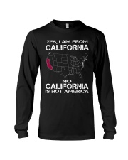 YES I AM FROM CALIFORNIA Long Sleeve Tee thumbnail