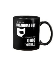 JUST AN OKLAHOMA GUY IN AN OHIO WORLD Mug thumbnail