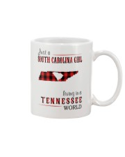 JUST A SOUTH CAROLINA GIRL IN A TENNESSEE WORLD Mug tile