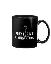 MY BEST FRIEND IS A MICHIGAN GIRL Mug tile