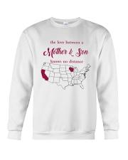 CALIFORNIA WISCONSIN THE LOVE MOTHER AND SON Crewneck Sweatshirt thumbnail