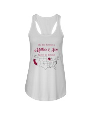 CALIFORNIA WISCONSIN THE LOVE MOTHER AND SON Ladies Flowy Tank thumbnail