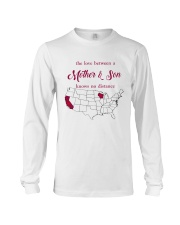 CALIFORNIA WISCONSIN THE LOVE MOTHER AND SON Long Sleeve Tee thumbnail