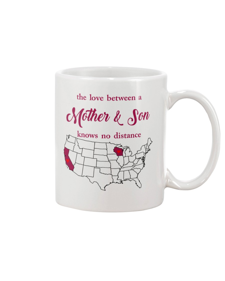 CALIFORNIA WISCONSIN THE LOVE MOTHER AND SON Mug