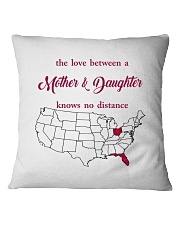 OHIO FLORIDA THE LOVE MOTHER AND DAUGHTER Square Pillowcase thumbnail