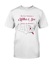 FLORIDA INDIANA THE LOVE MOTHER AND SON Classic T-Shirt thumbnail