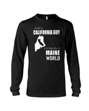 JUST A CALIFORNIA GUY IN A MAINE WORLD Long Sleeve Tee thumbnail