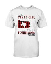 JUST A CALIFORNIA GIRL IN A NEW YORK WORLD Classic T-Shirt thumbnail