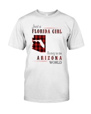 JUST A FLORIDA GIRL IN AN ARIZONA WORLD Classic T-Shirt tile