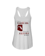 JUST A FLORIDA GIRL IN AN ARIZONA WORLD Ladies Flowy Tank thumbnail