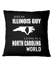 JUST AN ILLINOIS GUY IN A NORTH CAROLINA WORLD Square Pillowcase tile
