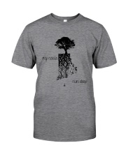RHODE ISLAND MY ROOTS RUN DEEP Classic T-Shirt thumbnail