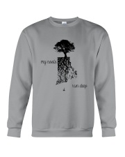 RHODE ISLAND MY ROOTS RUN DEEP Crewneck Sweatshirt thumbnail