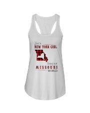 JUST A NEW YORK GIRL IN A MISSOURI WORLD Ladies Flowy Tank thumbnail