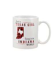 JUST A TEXAS GIRL IN AN INDIANA WORLD Mug thumbnail