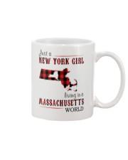 JUST A NEW YORK GIRL IN A MASSACHUSETTS WORLD Mug thumbnail