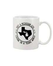 MICHIGAN GIRL LIVING IN TEXAS WORLD Mug thumbnail