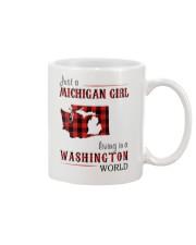 JUST A MICHIGAN GIRL IN A WASHINGTON WORLD Mug thumbnail