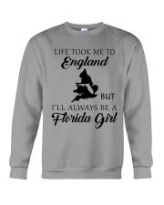 LIFE TOOK ME TO ENGLAND - FLORIDA Crewneck Sweatshirt thumbnail