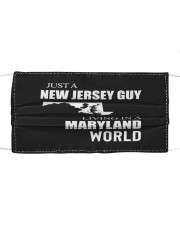 JUST A NEW JERSEY GUY IN A MARYLAND WORLD Cloth face mask thumbnail