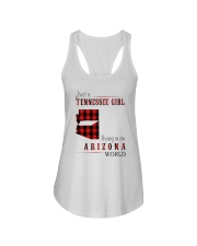 JUST A TENNESSEE GIRL IN AN ARIZONA WORLD Ladies Flowy Tank thumbnail