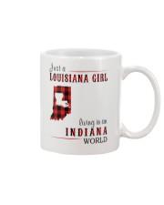 JUST A LOUISIANA GIRL IN AN INDIANA WORLD Mug thumbnail