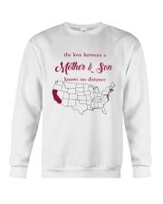 CALIFORNIA MASSACHUSETTS THE LOVE MOTHER AND SON Crewneck Sweatshirt thumbnail