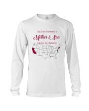 CALIFORNIA MASSACHUSETTS THE LOVE MOTHER AND SON Long Sleeve Tee thumbnail