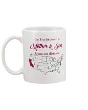 CALIFORNIA MASSACHUSETTS THE LOVE MOTHER AND SON Mug back