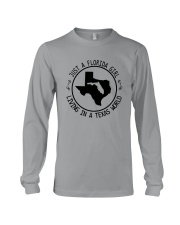 FLORIDA GIRL LIVING IN TEXAS WORLD Long Sleeve Tee thumbnail