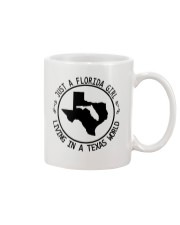 FLORIDA GIRL LIVING IN TEXAS WORLD Mug thumbnail