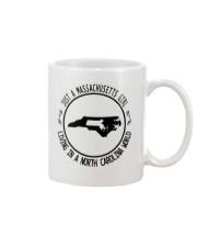 MASSACHUSETTS GIRL LIVING IN NORTH CAROLINA WORLD Mug thumbnail