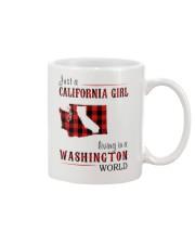 JUST A CALIFORNIA GIRL IN A WASHINGTON WORLD Mug thumbnail