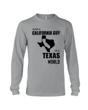 JUST A CALIFORNIA GUY IN A TEXAS WORLD Long Sleeve Tee thumbnail