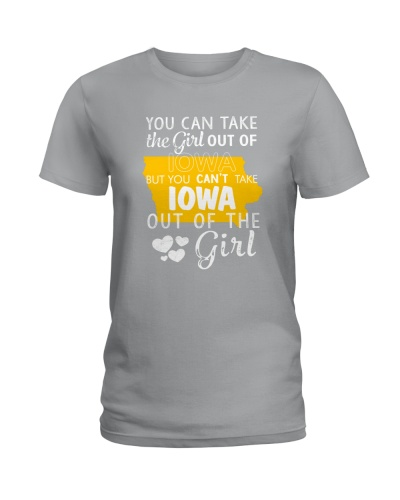 YOU CAN'T TAKE IOWA OUT OF THE GIRL