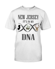 NEW JERSEY IT'S IN MY DNA Classic T-Shirt tile