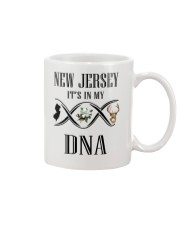 NEW JERSEY IT'S IN MY DNA Mug tile