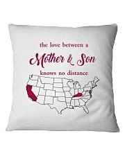 CALIFORNIA KENTUCKY THE LOVE MOTHER AND SON Square Pillowcase thumbnail