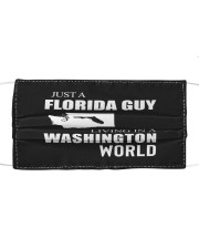 JUST A FLORIDA GUY IN A WASHINGTON WORLD Mask tile
