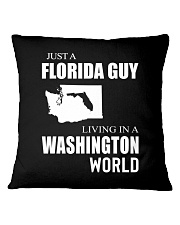 JUST A FLORIDA GUY IN A WASHINGTON WORLD Square Pillowcase tile