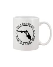MICHIGAN GIRL LIVING IN FLORIDA WORLD Mug thumbnail
