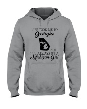 LIFE TOOK ME TO GEORGIA - MICHIGAN Hooded Sweatshirt tile