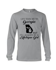 LIFE TOOK ME TO GEORGIA - MICHIGAN Long Sleeve Tee thumbnail