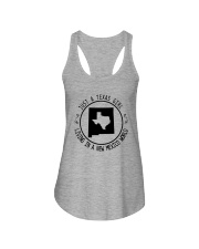 TEXAS GIRL LIVING IN NEW MEXICO WORLD Ladies Flowy Tank thumbnail