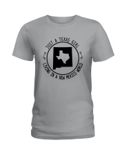 TEXAS GIRL LIVING IN NEW MEXICO WORLD Ladies T-Shirt thumbnail