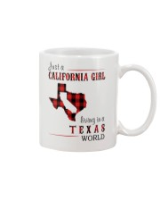 JUST A CALIFORNIA GIRL IN A TEXAS WORLD Mug thumbnail
