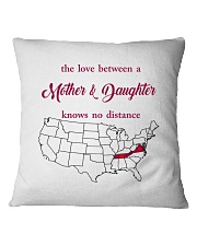 TENNESSEE VIRGINIA THE LOVE MOTHER AND DAUGHTER Square Pillowcase thumbnail