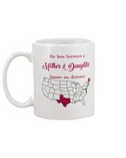 TEXAS MAINE THE LOVE MOTHER AND DAUGHTER Mug back